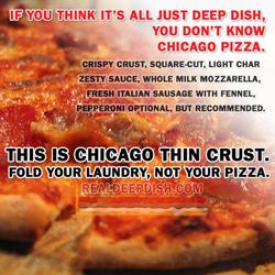 Chicago Thin Crust - RealDeepDish.com