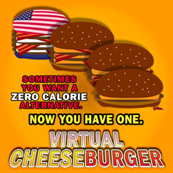 Virtual Cheeseburger!